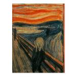 Edvard Munch - el grito Tarjetas Postales