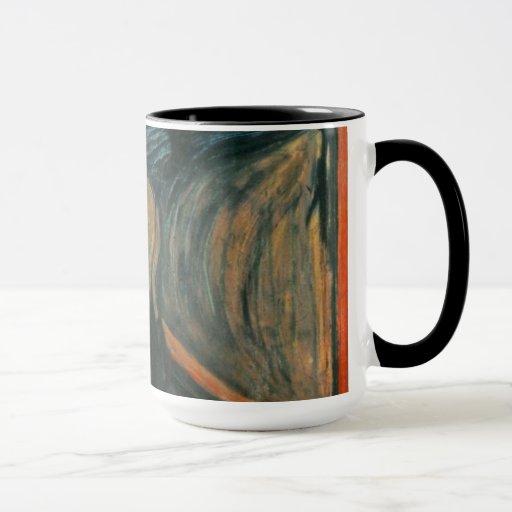 Edvard Munch - el grito Taza