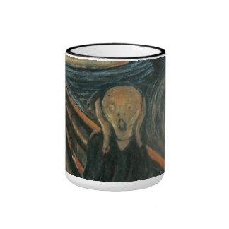Edvard Munch - el grito Taza A Dos Colores
