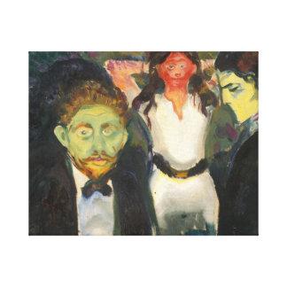 Edvard Munch - Jealousy Canvas Print
