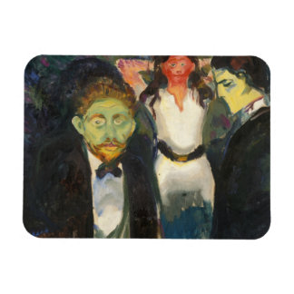 Edvard Munch - Jealousy Magnet