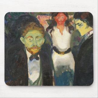 Edvard Munch - Jealousy Mouse Pad