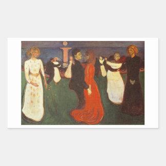 Edvard Munch - la danza de la vida Rectangular Altavoz