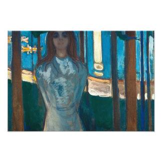Edvard Munch - la voz, noche de verano Fotografía