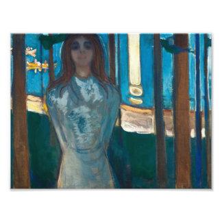 Edvard Munch - la voz, noche de verano Fotografías