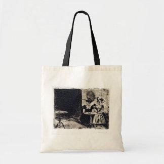 Edvard Munch Night Cafe Tote Bag