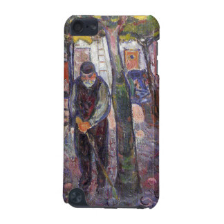 Edvard Munch - old man in warnemunde Painting iPod Touch (5th Generation) Case