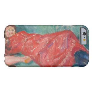 Edvard Munch - On the Sofa Barely There iPhone 6 Case