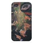 Edvard Munch - por la pintura de la ruleta iPhone 4/4S Fundas