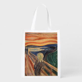 Edvard Munch's The Scream Grocery Bag