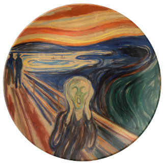 Edvard Munch's The Scream Plate