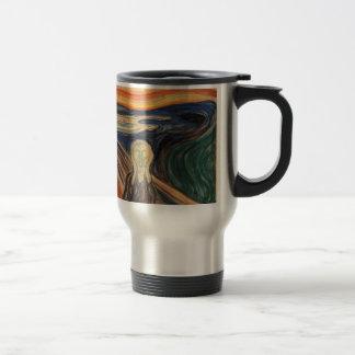 Edvard Munch's The Scream Travel Mug