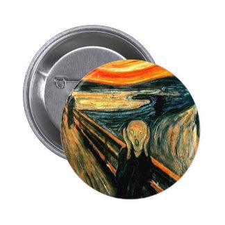 Edvard Munch - Scream Pinback Button