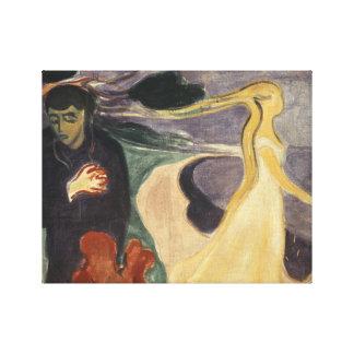 Edvard Munch - Separation Canvas Print