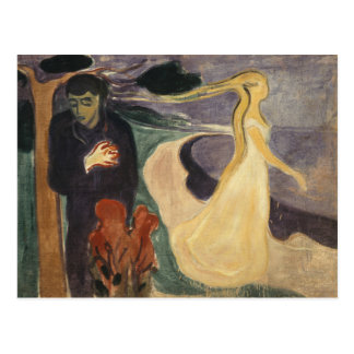 Edvard Munch - Separation Postcard