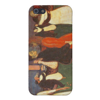 Edvard Munch - The Dance Of Life Cover For iPhone SE/5/5s