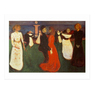 Edvard Munch - The Dance Of Life Post Card