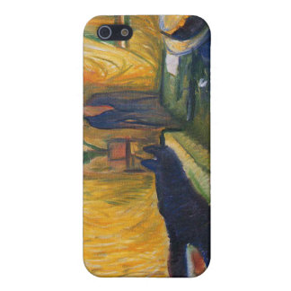 Edvard Munch - the murderess painting iPhone SE/5/5s Case