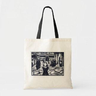 Edvard Munch The Pretenders The Last Hour Tote Bag