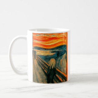 EDVARD MUNCH - The scream 1893 Coffee Mug