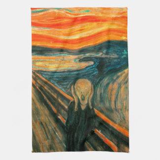 EDVARD MUNCH - The scream 1893 Hand Towel
