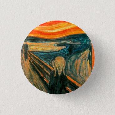 VintageBox EDVARD MUNCH - The scream 1893 Pinback Button