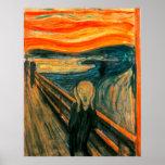 EDVARD MUNCH - The scream 1893 Poster