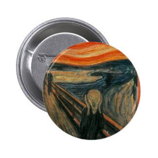 Edvard Munch - The Scream Pinback Buttons