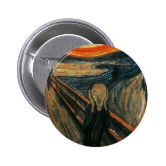 Edvard Munch - The Scream Button