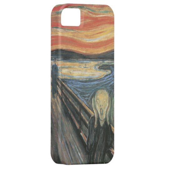 Edvard Munch - The Scream Fine Art iPhone 5 Case
