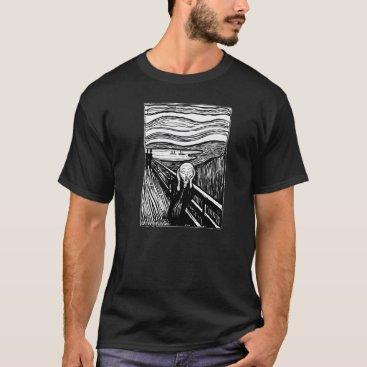 CUVUCU Edvard Munch The Scream Lithography T-shirt