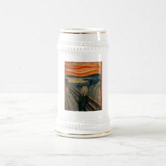 Edvard Munch - The Scream 18 Oz Beer Stein