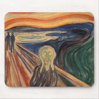 Edvard Munch The Scream Painting Mouse Pad