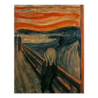 Edvard Munch The Scream Painting Poster