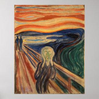 Edvard Munch The Scream Painting Poster