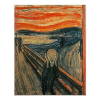 Edvard Munch - The Scream Art Photo