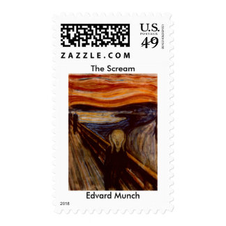 Edvard Munch the scream Stamps