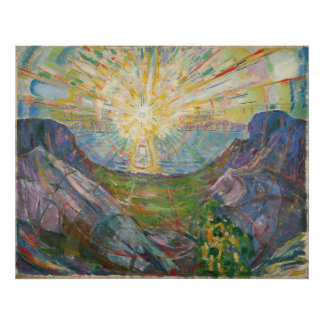 Edvard Munch - The Sun, 1916 Póster