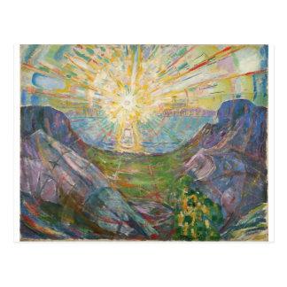 Edvard Munch - The Sun, 1916 Tarjeta Postal