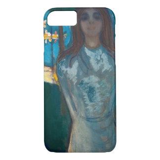 Edvard Munch - The Voice , Summer Night iPhone 8/7 Case