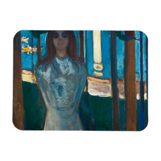 Edvard Munch - The Voice , Summer Night Magnet