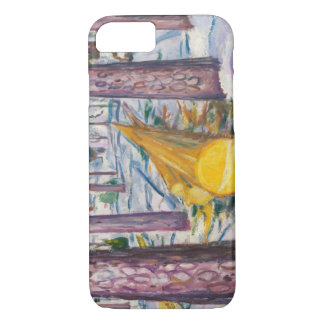 Edvard Munch - The Yellow Log iPhone 8/7 Case