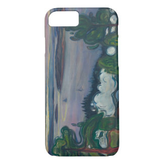 Edvard Munch - Train Smoke iPhone 8/7 Case