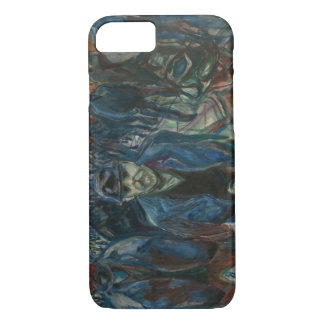 Edvard Munch - Workers on their Way Home iPhone 8/7 Case