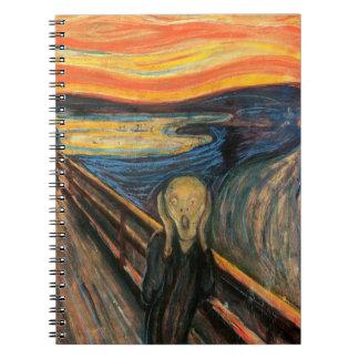 Edvard Munch's The Scream Spiral Notebooks