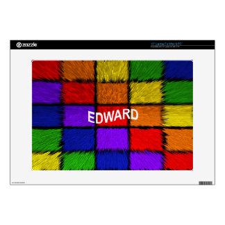 """EDWARD 15"""" LAPTOP SKINS"""