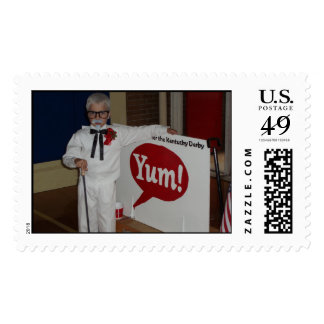 Edward as Colonel Sanders Postage