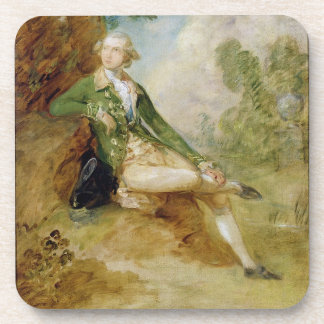 Edward Augustus, Duke of Kent, c.1787 (oil on canv Beverage Coaster