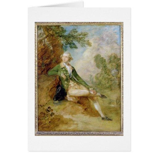 Edward Augustus, Duke of Kent, c.1787 (oil on canv Greeting Card