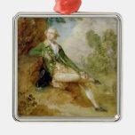 Edward Augustus, Duke of Kent, c.1787 (oil on canv Metal Ornament